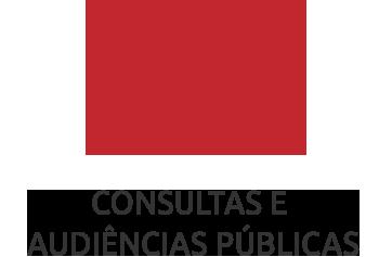 CONSULTAS E  AUDIÊNCIAS PÚBLICAS